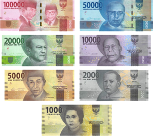 Indonesian bank notes (2016 Series)
