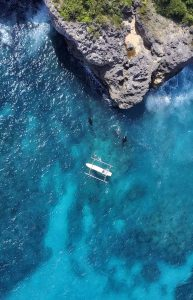 Aerial View - Manta Point, Nusa Penida